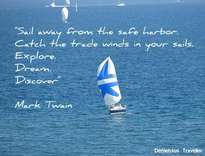 Coastal Quotes: Wind In Your Sails