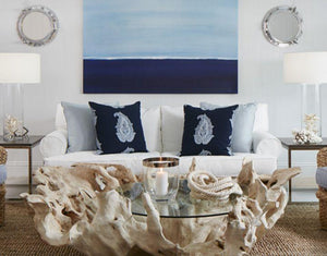 Knot This But That: Nautical Navy Family Room