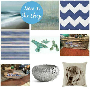 New in the shop: Beach house necessities