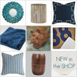 New In The Shop: Coastal Accent Decor