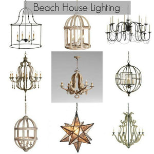 New In The Shop: Beach House Chandeliers