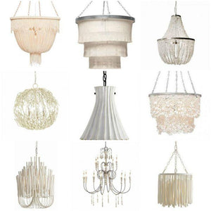 New In The Shop: Beachy White Coastal Lighting