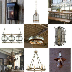 New In The Shop: Rustic Coastal Lighting