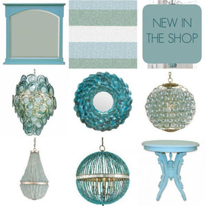 New In The Shop: Aqua Coastal Decor