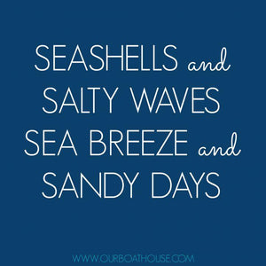 Coastal Quotes: Salty Seabreeze