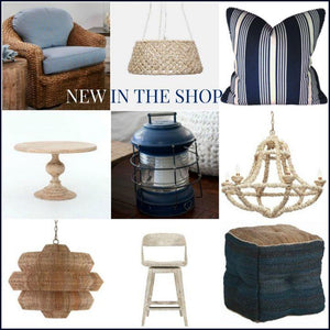 New In The Shop: Nautical, Natural And Navy Decor