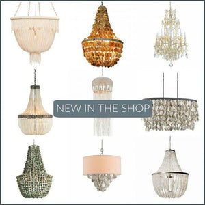 New In The Shop: Ocean Inspired Chandeliers