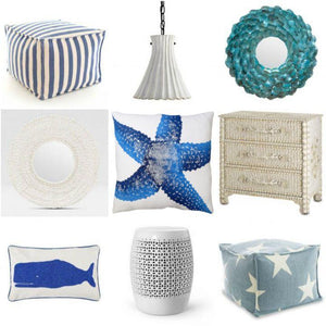 Round Up: Coastal Spring Decor