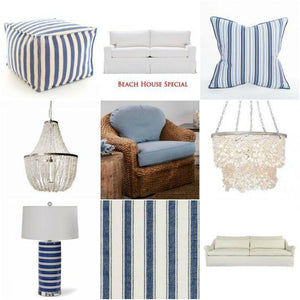 New In The Shop: Blue White Beach House Accents