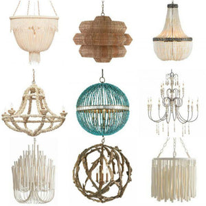 New In The Shop: Beachy Chandeliers