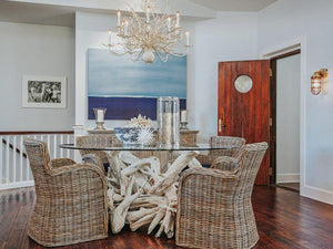 10 Ways: Create a coastal beach house dining room