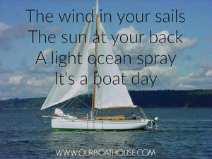 Coastal Quotes: Thankful For Boat Days