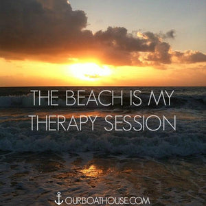 Coastal quotes- Beach therapy