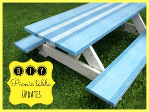 How to: DIY coastal picnic bench update
