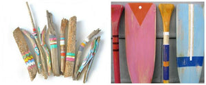 How to: DIY coastal painted oars