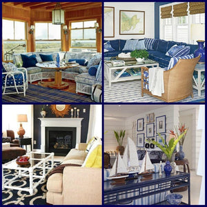 Style Starboard: Nautical Navy Coastal Rooms