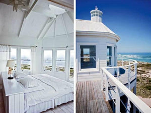 Spotted From The Crow's Nest: Beach House Tour...South African Beach House