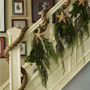 10 Ways To: Coastal holiday decorating