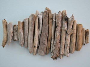 Coastal DIY: Driftwood Fish