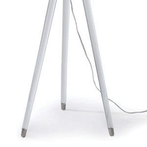 Surveyors Floor Lamp With Lucite Legs And Nickel Accents Floor Lamp