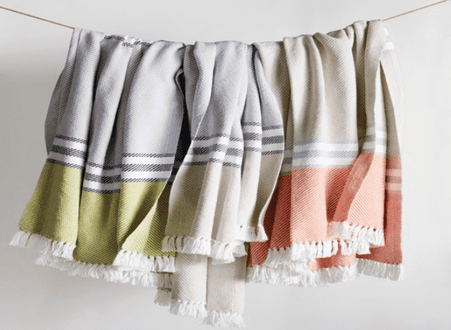 Allagash Cotton Throw - Five Colorways