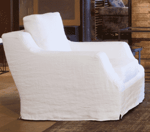 "Majorca 34"" Slipcovered Accent Chair"