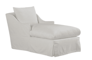 "Annapolis 33"" Slipcovered Chaise Lounge Slipcovered Chaise"