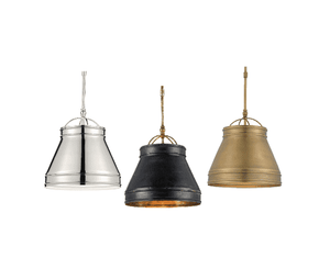 Caldey Island Pendant (Three Finishes) Pendant Light