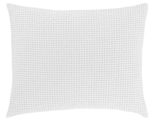 Curaco Matelassé Sham- Various Sizes & Colors Bedding Standard White