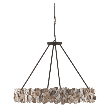 Oyster Shell Round Chandelier