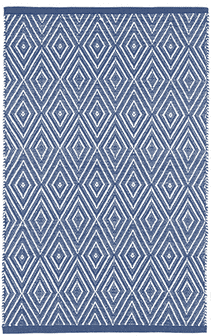 Diamond Denim Indoor/Outdoor Rug Rug