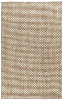 Basket Weave Natural and Bleach Rug Rug