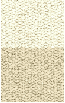 Hampton 4-inch Stripe Indoor/Outdoor PVC Rug - Beige Rug