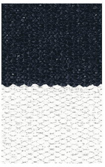 Hampton 4-inch Stripe Indoor/Outdoor PVC Rug - Navy/White Rug