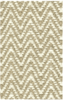 Hampton Chevron Indoor/Outdoor PVC Rug-Beige Rug