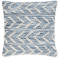 Pebble Beach Herringbone Indoor/Outdoor Pillow - Two Sizes