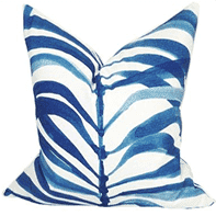 Palm Frond Pillow Pillow