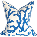Malibu Carbon Coral Pillow Pillow