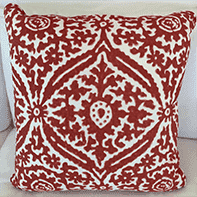 "RL Costera Sun Baked 22"" Throw Pillow Pillow"