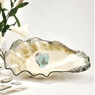 Oyster Shell Bowl - Large Entertaining