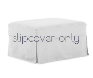 "Nantucket II 28"" Ottoman - Slipcover ONLY Slipcover Only"