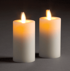 Flameless Indoor Candles - Various Sizes Candle Size_2x4