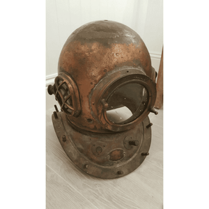 Authentic-Diver's Helmet Vintage