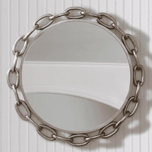 Anchor Chain Round Mirror Mirror