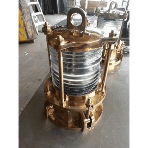 Solid Cast Brass Nautical Piling Light Piling Light
