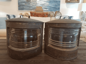 Pair of Starboard/Port Lights Ship Light