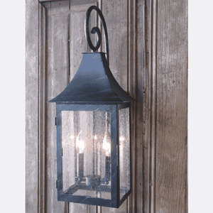 Captain's Iron Wall Lantern Indoor and Outdoor Sconce