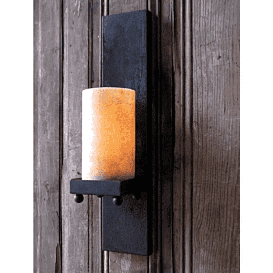 Tall Candle Light Wall Sconce