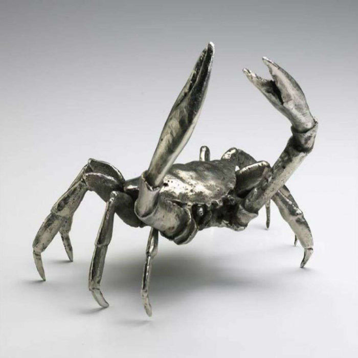 Crab (cast iron)  in Silver Finish
