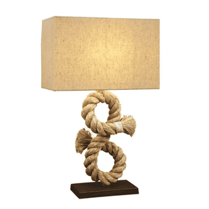 Rope Table Lamp Lamp